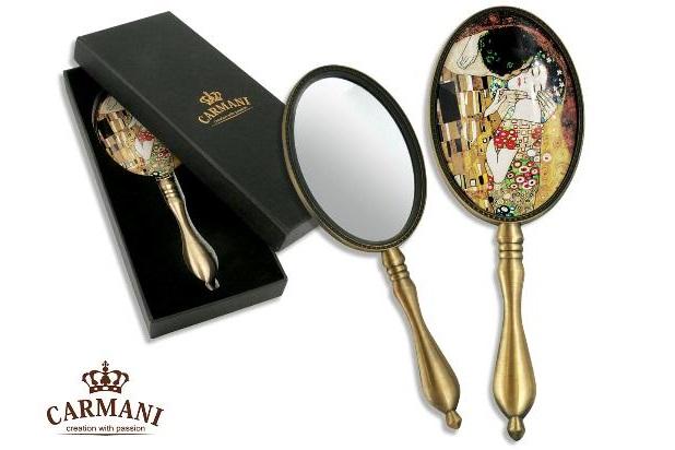 Oglinda cosmetica Klimt - Sarutul