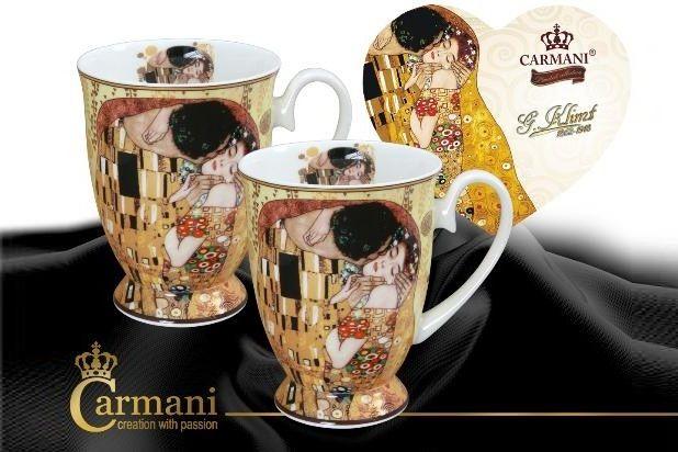 Set 2 cani Klimt Sarutul