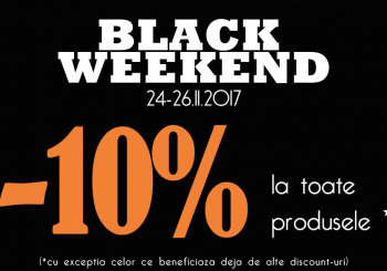 Black Weekend 2017 la Charisma