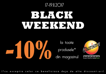 Black Weekend 2017 la Charisma Electroputere Mall Craiova