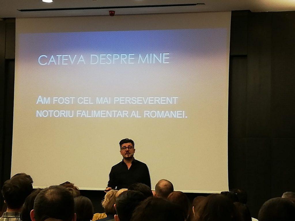 Discurs Cristian Onetiu la conferinta 6C - Cariera. Sfaturi pentru a progresa in cariera